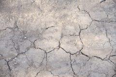 Closeup of dry soil Royalty Free Stock Photos