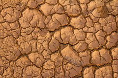 Closeup of dry soil. Stock Images