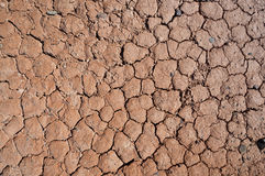 Closeup of dry soil texture Stock Photos