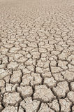 Closeup of dry soil Royalty Free Stock Images