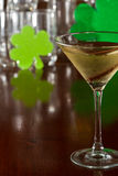 Dublin apple martini Royalty Free Stock Photography