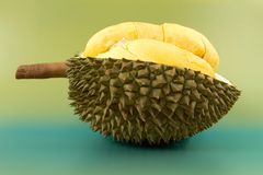 Closeup of durian fruits Royalty Free Stock Photos