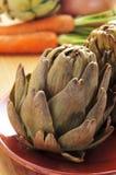 Roasted artichokes Royalty Free Stock Image