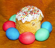 Closeup of easter sweet Royalty Free Stock Photo
