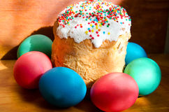 Closeup of easter sweet Royalty Free Stock Images