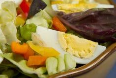 Closeup of egg salad Stock Photos