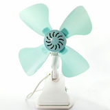 Closeup electric fan. Stock Image