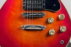 Closeup of an electric guitar picks Stock Image
