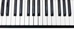 Closeup of Electronic Piano Royalty Free Stock Photography