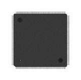 Closeup of electronic processor Royalty Free Stock Image