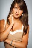 Closeup of elegant female Stock Images