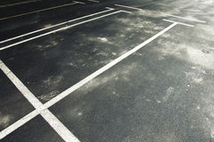 Car parking place Royalty Free Stock Images