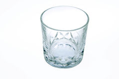 Closeup of an empty glass Royalty Free Stock Photo