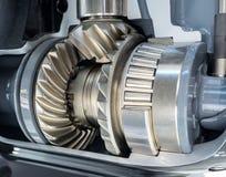 Closeup of engine gear Stock Photos