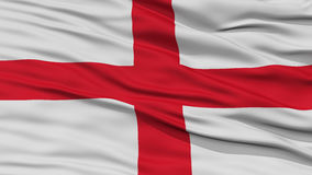 Closeup England Flag. Waving in the Wind, High Resolution vector illustration