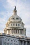Closeup ensamma Dayli för detalj för kupol för USA-KapitoliumBuiding Washington DC Arkivfoton