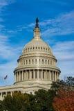 Closeup ensamma Dayli för detalj för kupol för USA-KapitoliumBuiding Washington DC Arkivfoto