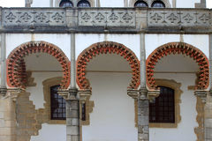 Closeup of Evora architecture Royalty Free Stock Image