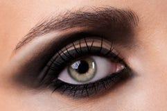 Closeup of eye Royalty Free Stock Photos