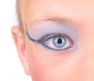 Closeup eye Stock Photos
