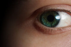 Closeup of an eye Royalty Free Stock Photos