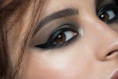 Closeup of eye with makeup Royalty Free Stock Image