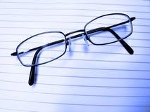 Closeup of Eyeglasses Stock Photography