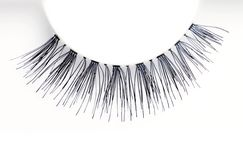Closeup of an eyelash Royalty Free Stock Image