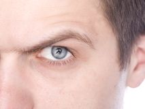 Closeup eyes Royalty Free Stock Photo