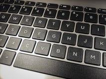 Closeup för alfanumeriskt tangentbord för dator Fotografering för Bildbyråer