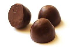 Closeup för chokladgodisar Royaltyfri Bild