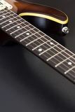 Closeup för elektrisk gitarr Arkivbild