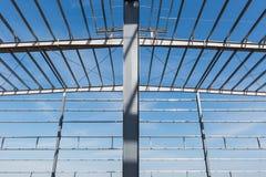Closeup för seminarium för stålstruktur royaltyfri bild