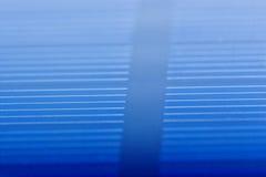 Closeup för sol- batteri Royaltyfri Fotografi