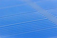 Closeup för sol- batteri Arkivbild