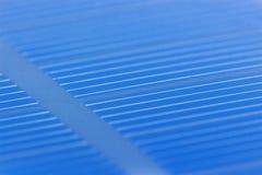 Closeup för sol- batteri Royaltyfria Bilder
