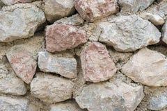 Closeup för stenvägg Fotografering för Bildbyråer