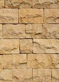 Closeup för stenvägg Arkivfoto