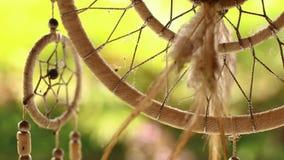 Closeup för stoppare för Bogo stil dröm- på en tropisk bakgrund lager videofilmer
