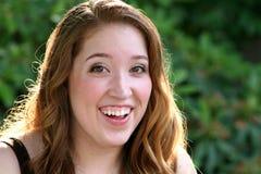 Closeup för upptaktstudentbalflicka Fotografering för Bildbyråer