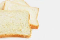 Closeup för vitt bröd Royaltyfri Foto