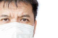 Closeup face of a doctor Stock Images