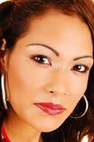 Closeup face shoot. Royalty Free Stock Photo