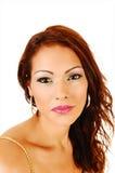 Closeup face shoot. Stock Photos