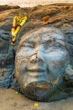 Closeup facial image of Shiva Royalty Free Stock Images