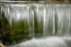 Closeup of Falling Water Stock Image