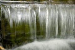 Closeup of Falling Water stock image