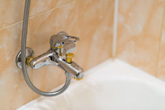 Closeup of faucet. Stock Image