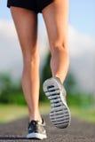 Closeup of feet on pathway Stock Photos