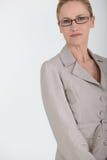 Closeup of a female executive Stock Photo